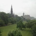 View of Edinburgh, Scotland.