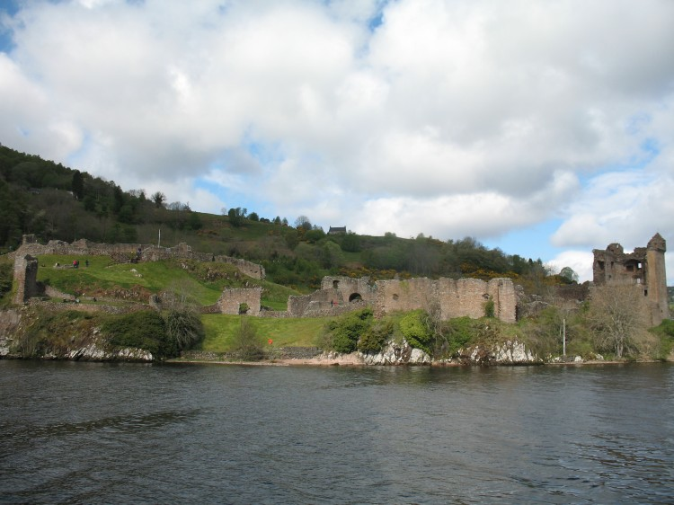 Urquhart Castle on Shores of Loch Ness