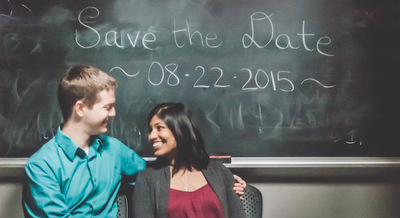 Save the Date Photo